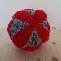 Crochet puzzle ball