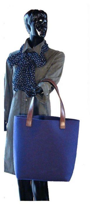 Bardzo duża XXL minimalistyczna i pojemna torebka