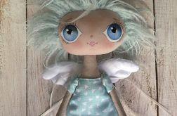 ANIOŁEK lalka, dekoracja tekstylna, OOAK