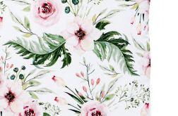 Poduszka Velvet(L)ove garden - ciemny róż