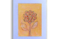 Kwiat rysunek dekoracyjny do pokoju n21