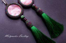 zieleń fioletu