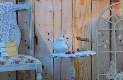 Oryginalny stolik, prowansalski, shabby chic
