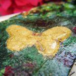 Zakładka trójwymiarowa z motylem