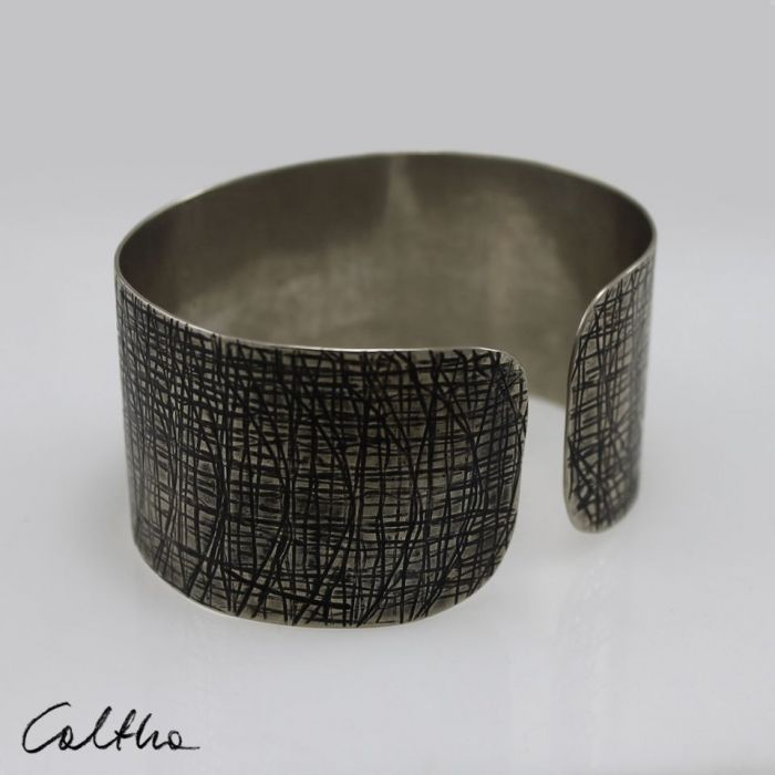 Kora - metalowa bransoletka  171029-03