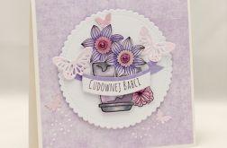 Bukiet kwiatów dla Cudownej Babci KDB1910