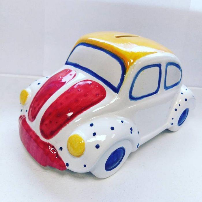 Beetle - garbus ceramiczna skarbonka