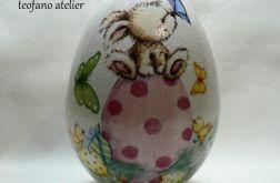 Jajko (16cm) zając na jajku