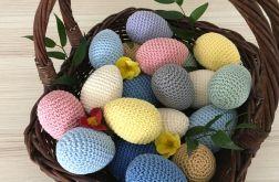 Szydełkowe kolorowe jajka