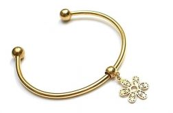 Alloys Collection /Flower gold/ bransoletka