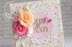 Ślubny komplet w różach