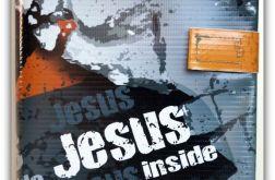 Okładka etui na Biblię Jezus inside /Warszawska, Tysiąclecia, Edycja św. Paweł, Nowe Przymierze