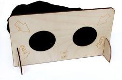 Zgadywanka sensoryczna, drewniana