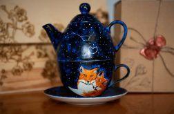 Zestaw do herbaty - Tea for One Galaktyczne Lisy