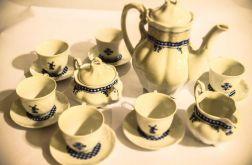 Serwis porcelanowy decoupage