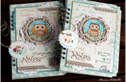 Ręcznie wykonany Romantyczny Notes