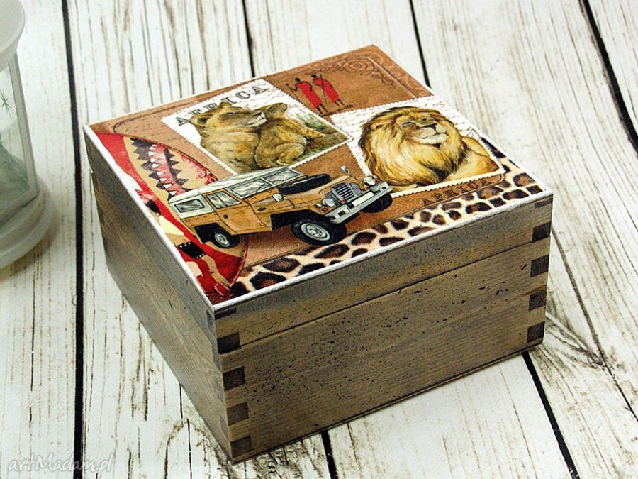 szkatułka- Safari