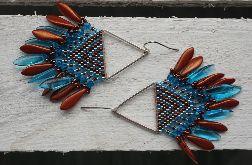 kolczyki 'indiańce' #2