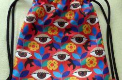 Worek - plecak Oczy