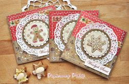 Pierniki na Święta - ZESTAW kartek