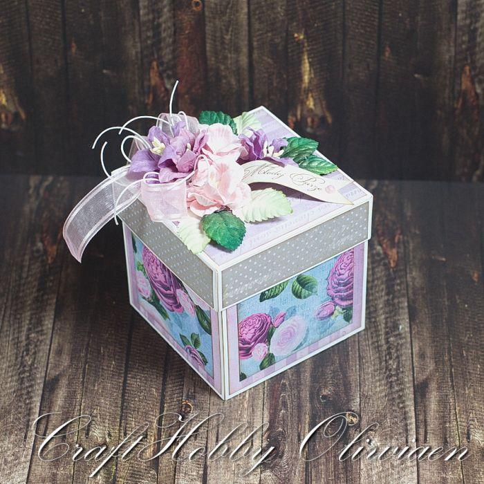 Różany box ślubny