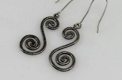 Zawijasy - srebrne kolczyki 180419-04