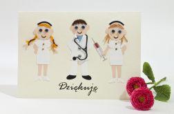 Kartka Podziękowanie dla lekarza, personalizowana