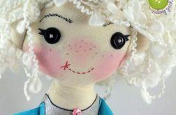 Lalka szmacianka Fruzia 36 cm komplet