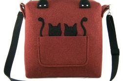 Chest crimson & black cats/strap