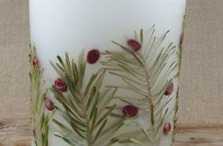 świece FLORA -z naturalnymi roślinami #10