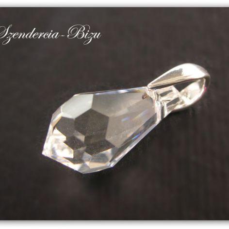 Zawieszka Swarovski Elements Drop 13mm Crystal