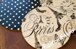 4 PODKŁADKI POD KUBEK PARIS