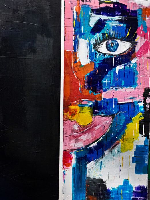 """Obraz Akryl """"Szał"""" 60x80 cm"""
