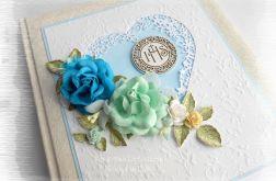 Album w pudełku IHS niebieski
