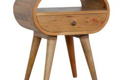 szafka nocna loft stolik nocny drewno