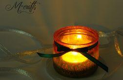 Świąteczny lampion szklany -4-