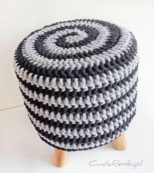 Pokrowiec na stołek Swirl
