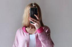 Bomberka długi sweter z kieszeniami 01