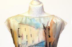 Bluzka jedwabna -Wenecja