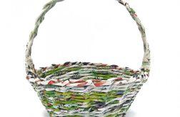 Koszyk wielkanocny - zielony