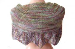 chusta - szal w melanżowym kolorze
