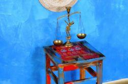 Stołek, stolik, boho, orient