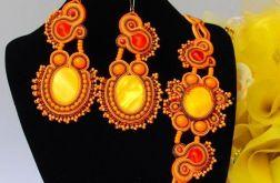 "Komplet biżuterii sutasz ""Sunset"""