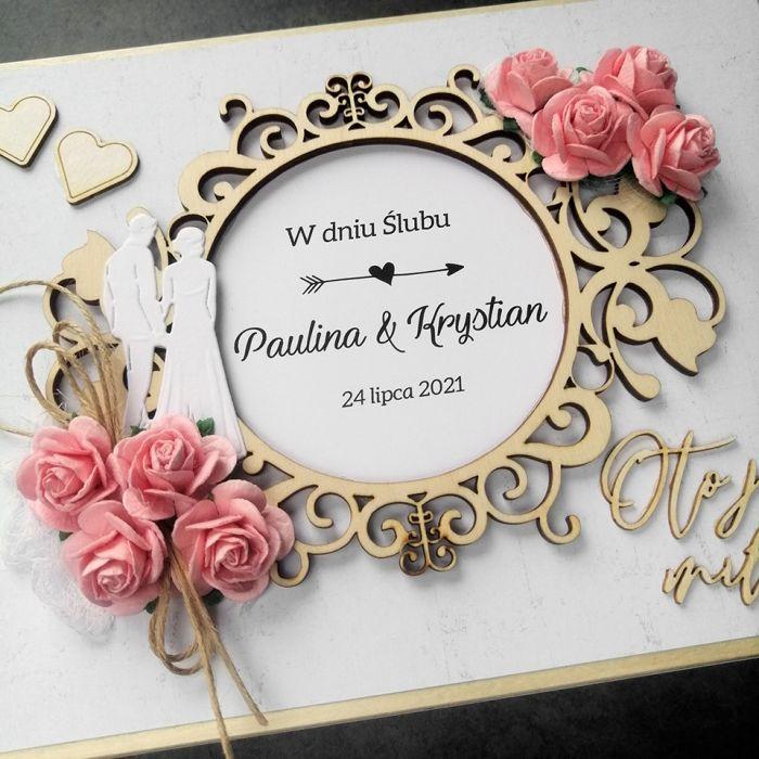 Skrzynka z przegródkami na Ślub SLB 090 - Skrzynka z przegródkami na Ślub 2