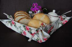 Koszyk na pieczywo - Angielskie róże