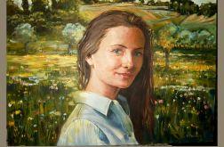 Portrety olejne na płotnie
