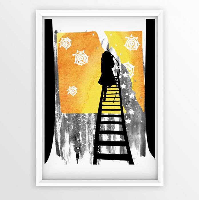 Wieczne Słońce... ilustracja