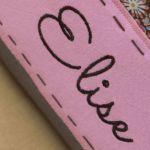 plecak worek do przedszkola miś róż imię