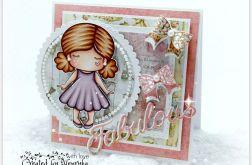 Kartka dla dziewczynki Fabulous