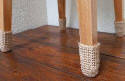 Skarpetki krzesełkowe ochraniacze podłogi